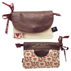 Jan Constantine Love Make Up Bag. The CHic Country Home