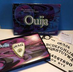 Ouija Board 1998 Parker Brothers Game Mystifying Oracle Glow In The Dark