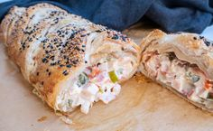 Casserole Recipes, Crockpot Recipes, Chicken Recipes, Yummy Eats, Yummy Food, Pizza Snacks, Danish Food, Bacon, Mushroom Recipes