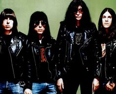 The Ramones photographed by Michael Halsband