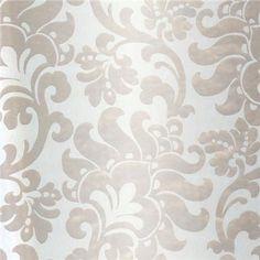302011 Pewter Large Jacobean - Eijffinger Wallpaper