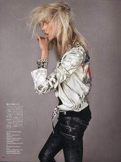 Grunge #editorial #model #fashion #rock #alternative by lelia