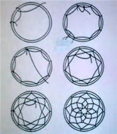 dreamcatcher step by step patterns - Bing images
