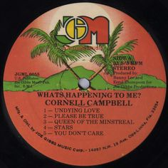 Cornell Campbell - Whats Happening To Me? (Label)