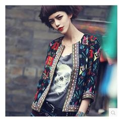 #Bohemian #vintage style #jacket #casual #http://on.fb.me/1CF3vwr