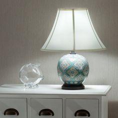 Lampa stołowa Kayoko ceramiczna 48cm , 48cm - Dekoria