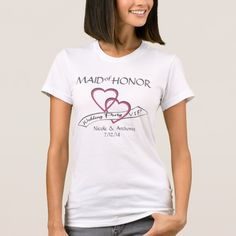 Wedding Party VIP Maid of Honor T-Shirt