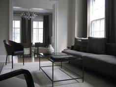 desire to inspire - desiretoinspire.net - LOVE    reminds me of what a Christian Grey apartment would look like..