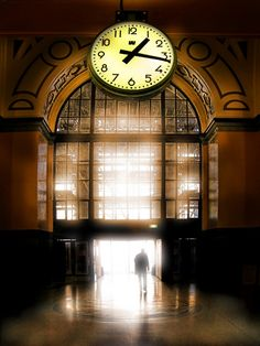 The Railway Station with A Myriad of Trains and One Clock That Rules Them All  Wellington, NZ