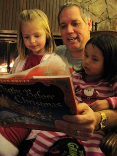 Invite friends over (in their PJ's) to read Christmas stories, drink hot chocolate, decorate gingerbread houses and make gift tags.  A special way to slow down and enjoy an evening with friends.  Friends should each bring their own Christmas book to read.