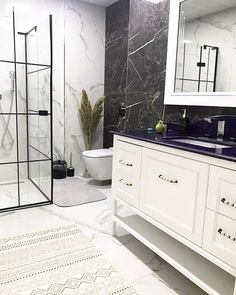 This open concept house in Balikesir Wall Out, In Web Design Trends, Bathroom Interior Design, Open Concept, Home Decor Inspiration, Design Inspiration, Kitchen Design, Sweet Home, New Homes, Indoor