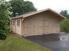 Mr Wood's Classic Apex Roof Garage - 6m x 9m