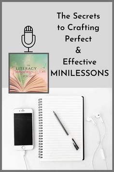 An effective minilesson is short and packed with a powerful message that will ignite and motivate your readers to actively engage in their independent reading work. This episode dives into the 'not so secret' secrets of crafting the perfect minilesson. Teacher Blogs, Teacher Resources, Reading Goals, Instructional Strategies, Fourth Grade, Third Grade, Elementary Teacher, Teaching Tips, Critical Thinking