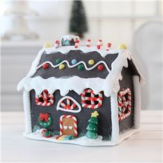 gingerbread house....