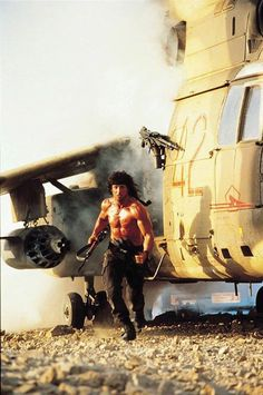 A gallery of Rambo III publicity stills and other photos. Featuring Sylvester Stallone, Richard Crenna, David Morrell, Peter Macdonald and others. Rambo 3, John Rambo, Action Movie Stars, Best Action Movies, Epic Movie, Movie Tv, Silvestre Stallone, Sly Stone, Keanu Reeves John Wick