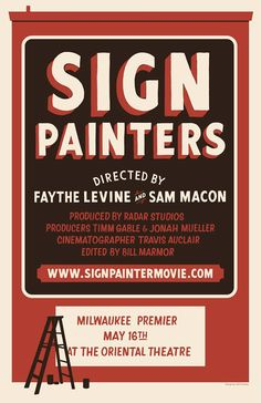 Sign Painter Movie Promotion