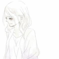 Animated gif about gif in anime, manga, drawings, texts from them. Anime Girl Crying, Sad Anime Girl, Animation Reference, Art Reference, Tears Art, Zombie Girl, Anime Poses, Anime Sketch, Illustration Girl
