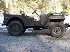 1952 Willys M38 Military Jeep with M100 Trailer RARE Original Unrestored | eBay