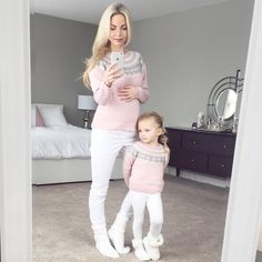 #stylethebump #chicbump #sexybump Mother Daughter Fashion, Mother Daughter Matching Outfits, Mommy And Me Outfits, Matching Family Outfits, Mother And Child, Kids Outfits, Baby Kind, Mom And Baby, Future Daughter