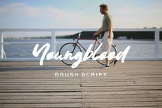 Youngblood Brush Typeface by zansari on @creativemarket
