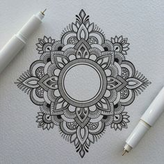 Small original drawing. The Mandala is 12cm x 11cm in size drawn on high quality,textured,300gsm paper (15cm x 21cm).