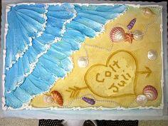 Cute Idea for Bridal Shower Cake