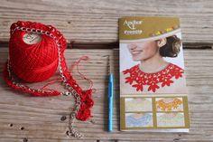 Crochet collar... and something else!
