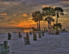 Florida Sunset www.ashoeboxofmemories.com