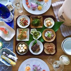 【豆皿のある暮らし】人気インスタグラマーTammy*さんに聞く、豆皿を使うコツ | くらしのアンテナ | レシピブログ B Food, Home Recipes, Food Presentation, Japanese Food, Food Photography, Sweet Home, Mexican, Plates, Cooking