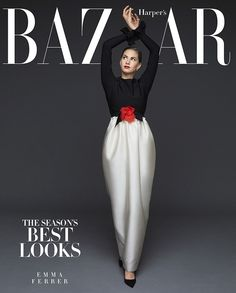 Introducing Audrey Hepburn's granddaughter, Emma Ferrer, as one of BAZAAR's September cover stars. See the full fashion shoot and read the interview here: