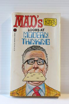 MAD'S Dave Berg Looks at MODERN THINKING Comic Book, Vintage Comic Book, Gift for Dad, Father's Day Gift, Vintage Paper Ephemera, Retro book