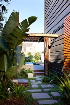 Read more on Grand Designs Australia: Series 1 · Episode 4 Grand Designs Uk, Grand Designs Australia, Zinc Cladding, Exterior Cladding, Contemporary Landscape, Landscape Design, Garden Design, Best Exterior Paint, Garden Spaces
