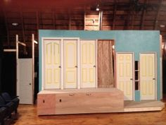 Noises Off's rotating set (in progress).