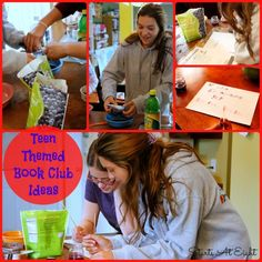 The How To's For Book Clubs: Example of a Teen Themed Book Club - StartsAtEight