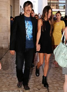 Age gap: Anthony is dating 20-year-old model Helena Vestergaard