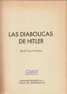 Las diabólicas de Hitler. Karl Von Vereiter (Enrique Sánchez Pascual). 1975.