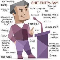Mbti, Entp Personality Type, Myers Briggs Personality Types, Yolo, Enfp, Funny Memes, Humor, Random, Quotes