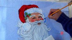 Papai Noel em Tecido (Natal 7 / 2016)