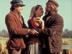 Perchik, Hodel, and Tevye.