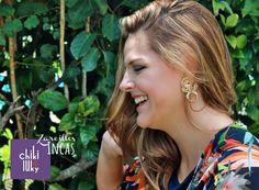 #NuevaTemporada Inspiradas en la Cultura #Inca creamos estos hermosos zarcillos para hacerte lucir elegante y casual. Qué tal ? #bloggers #ootd #trendy # #Mujeres #Fashionista #DesignersVenezuela #Love #Model #handmade #hechoenvenezuela #hechoamano #zarcilloschikiluky
