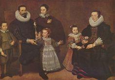 1631 Cornelis de Vos (Flemish painter, c Family Portrait 17th Century Clothing, 17th Century Fashion, 16th Century, Renaissance, Camille Pissarro, Museum Of Fine Arts, French Artists, Family Portraits, Amazing Art