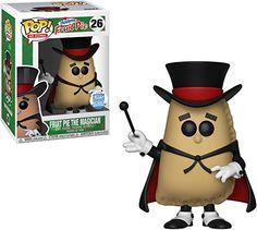 Funko Shop Pop Fruit Pie The Magician 26 AD Icon Le Hostess for sale online Hostess Fruit Pies, Garbage Pail Kids Cards, Pop Figurine, Pop Ads, Pie Pops, Pop Heroes, Pop Dolls, Pop Vinyl Figures, Funko Pop Vinyl