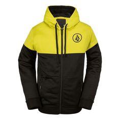 Sudadera/Sweatshirt/Hoodie/Mens Volcom Zip Alternate Black (Snow-Colletion)
