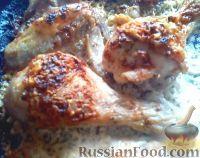 Фото к рецепту: Курица в сливочно-чесночном соусе