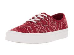 Vans Unisex Authentic Ditsy Bandana Chili Pep Skate Shoe 6 Men US  75 Women US *** Find out more about the great product at the image link.(This is an Amazon affiliate link and I receive a commission for the sales)