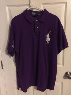 Polo Ralph Lauren Men's XXL Polo Shirt Big Pony The Championships Wimbledon  #PoloRalphLauren #PoloRugby