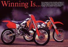 https://flic.kr/p/qj88P2 | 1995 Honda CR Line Brochure Page 2-3