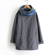 Saro style....I would love this as an art smock also. Love the pockets!