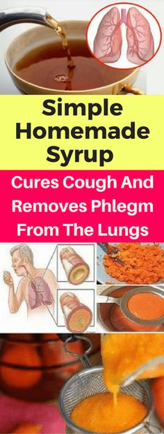 Simple Homemade Syrup Cures Cough And Removes Phlegm From The Lungs – healthycatcher