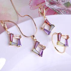 ファッションゴージャスなビジュージルコンaneisウェディングジュエリーセットギフトfeminino充填ゴールドオウロweding jewelaryと操作conjuntoデジョイアス